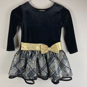 Bonnie Jean Long Sleeve Formal Dress Size 3T
